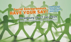 Social entrepreneur _have your say