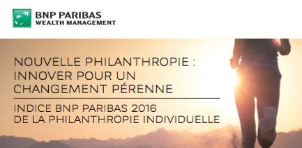 Visuel BNP philanthropy index