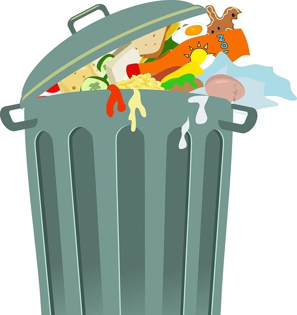 visuel gaspillage alimentaire