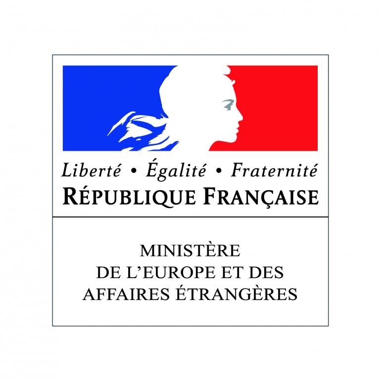 Logo Ministère de l'Europe et des affaires étrangères