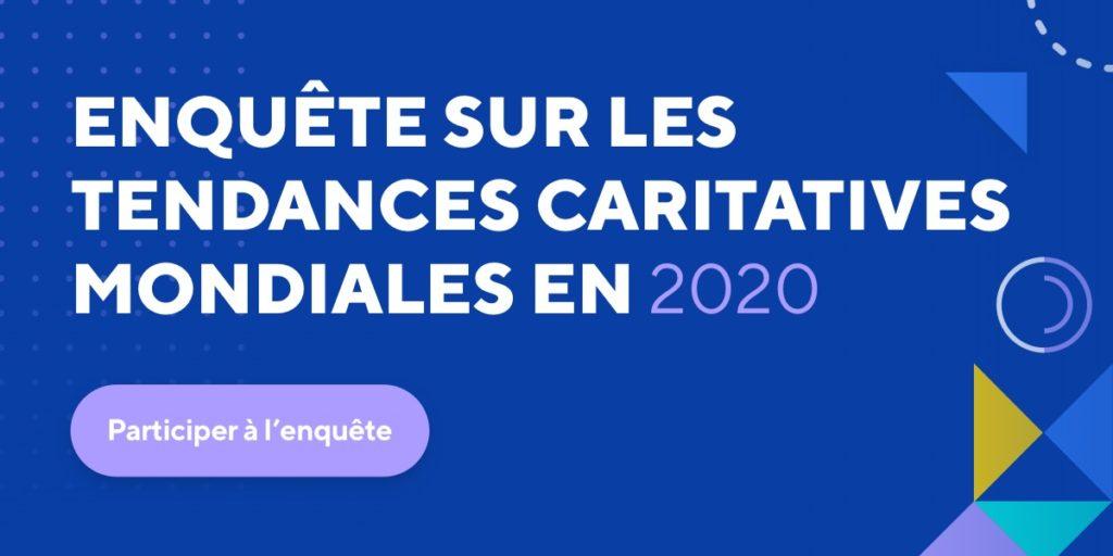 Participez à l'enquête sur les tendances caritatives mondiales en 2020